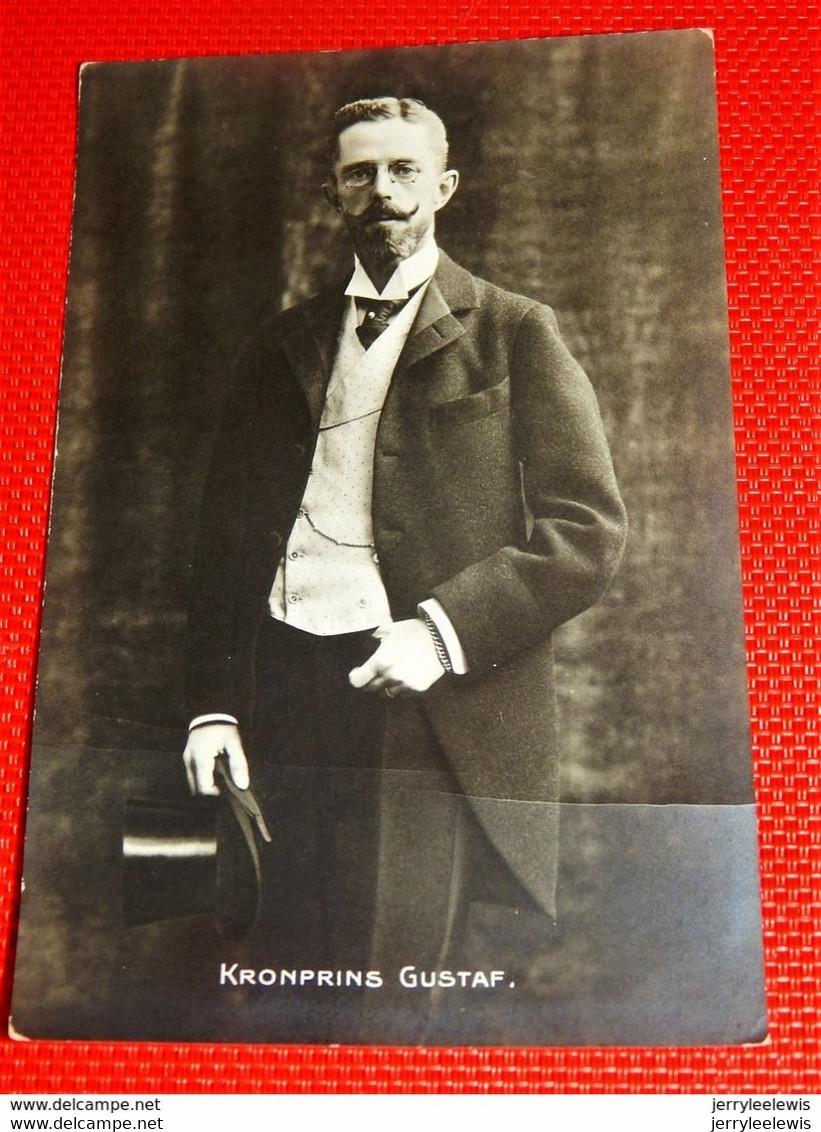 SWEDEN - Roi Gustave V  De Suède  - Konig Gustav V Von Schweden - - Royal Families
