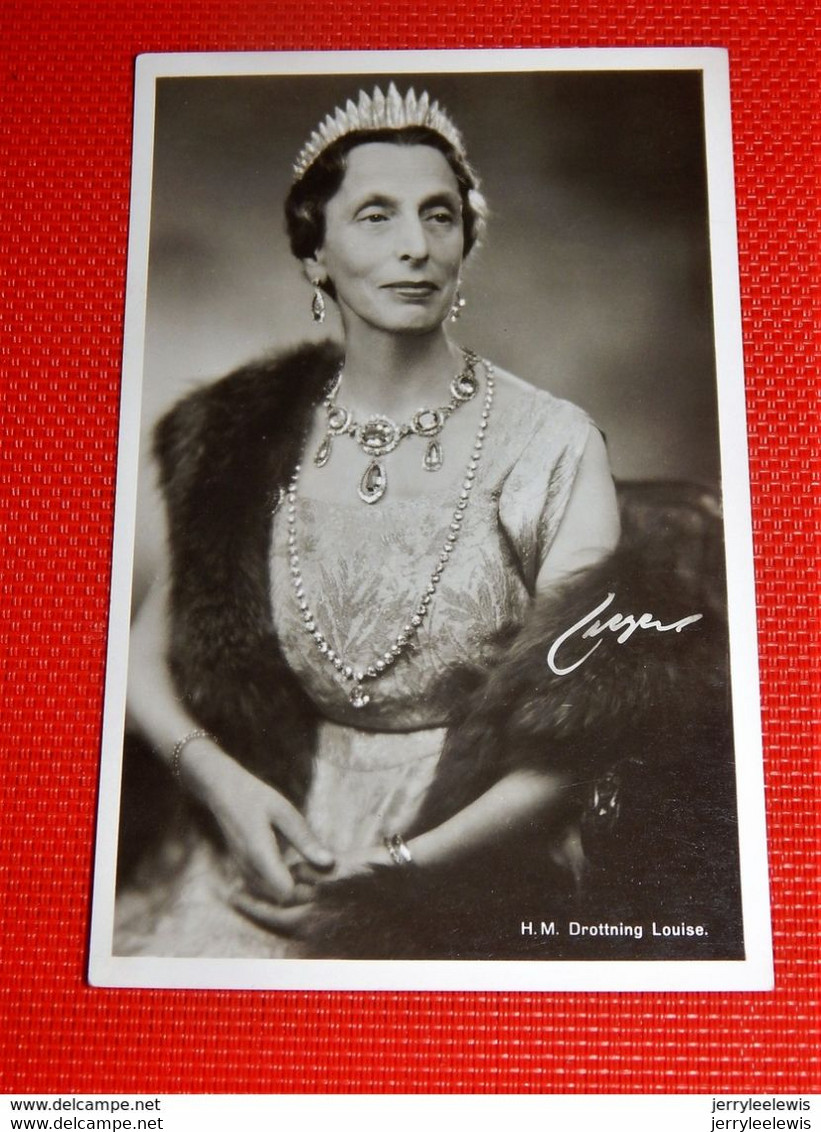 REINE LOUISE , Princesse Suédo-Norvégienne,  Reine Du Danemark  -  Dronning Louise - Royal Families