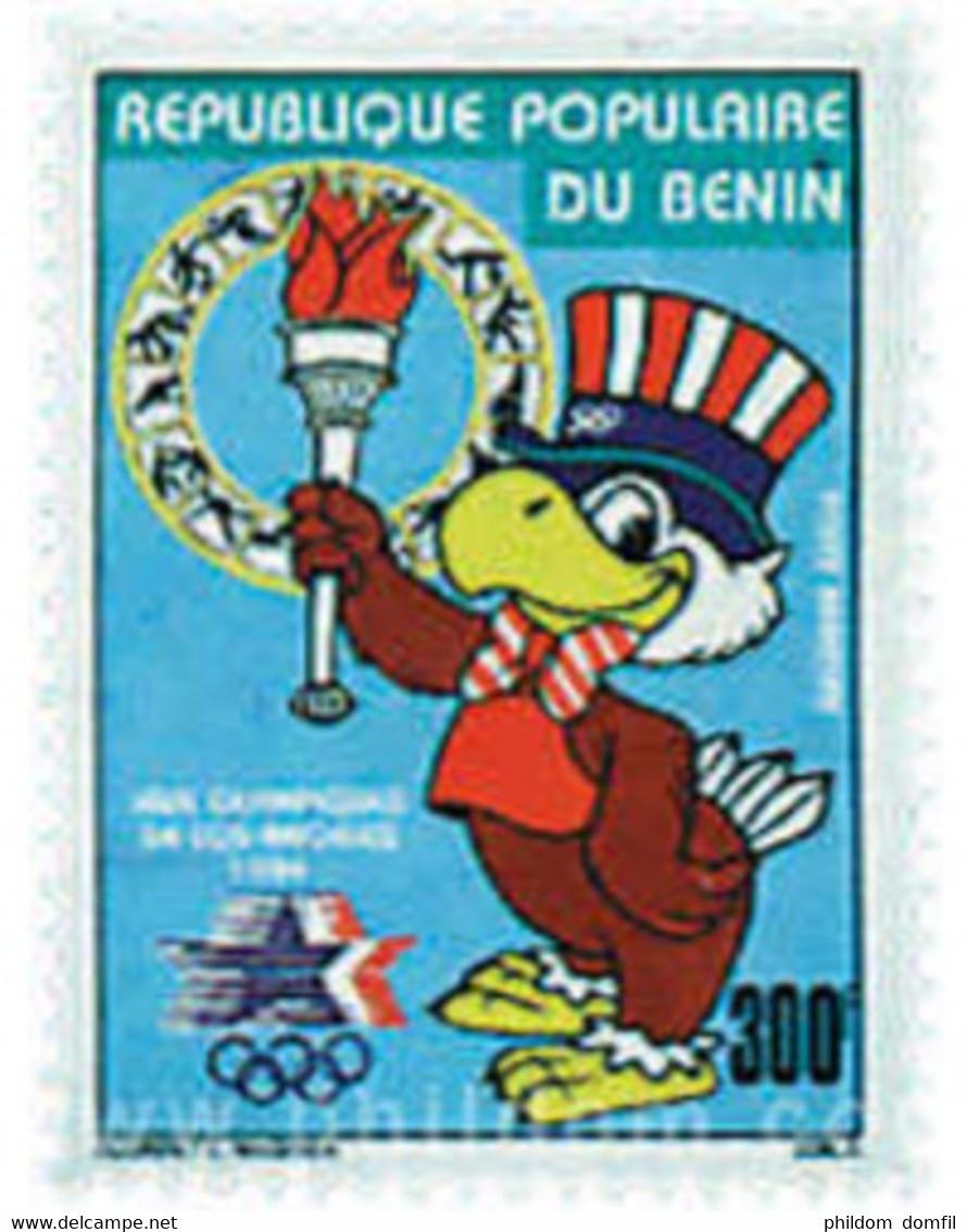 Ref. 51864 * MNH * - BENIN. 1984. GAMES OF THE XXIII OLYMPIAD. LOS ANGELES 1984 . 23 JUEGOS OLIMPICOS VERANO LOS ANGELES - Balonmano