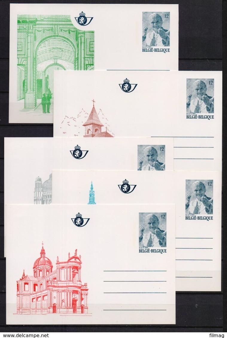 BK 34/38 PAUSBEZOEK POSTFRIS**  1985 CAT: 55 Euro - Postales [1951-..]