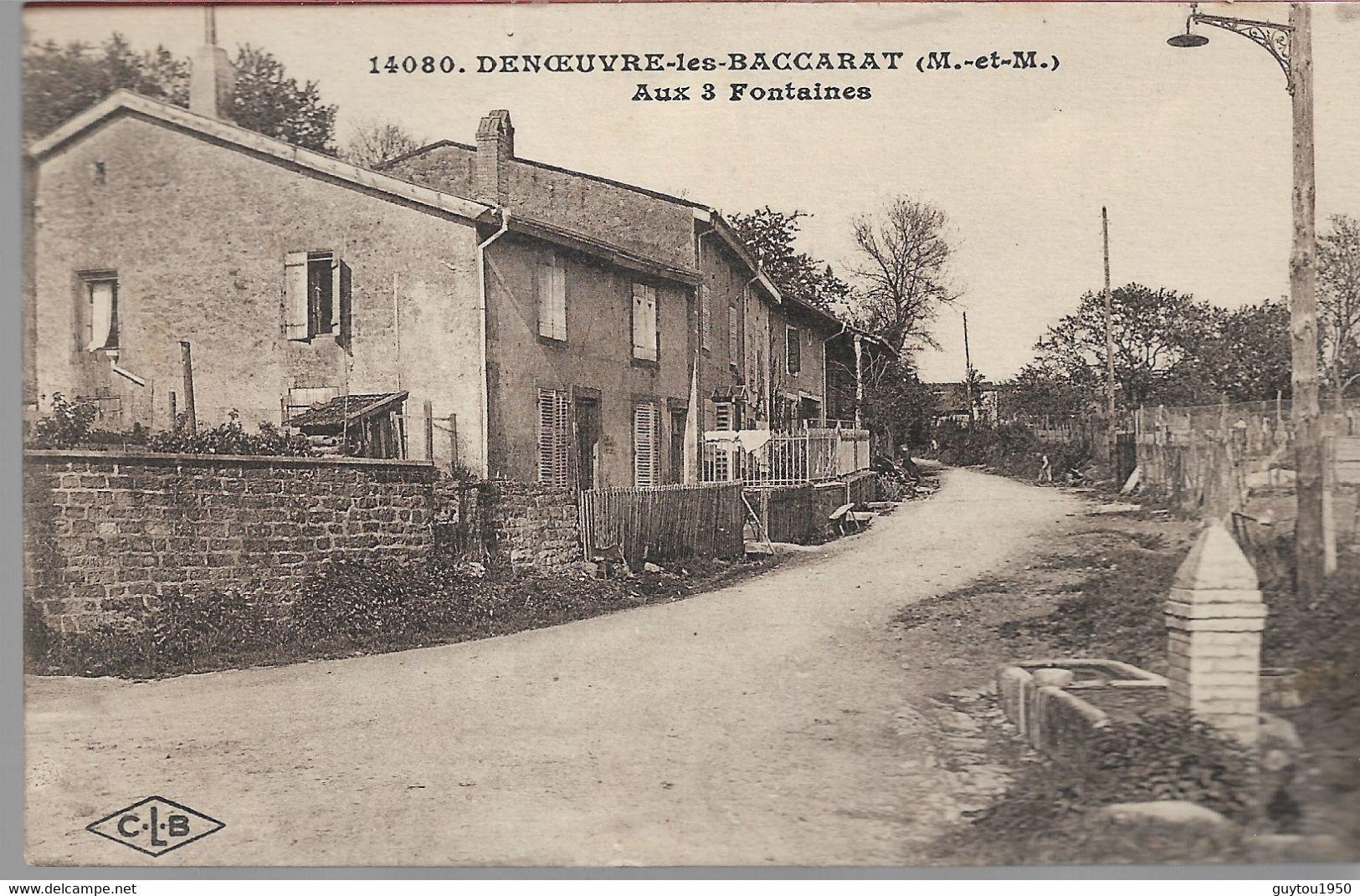 Denoevre Les Baccarat Au 3 Fontaines - Dieulouard