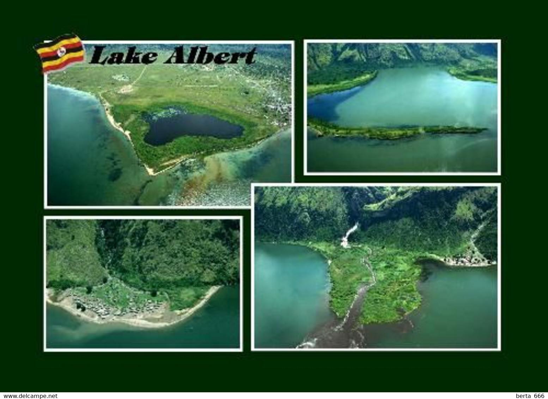 Uganda Lake Albert Multiview New Postcard - Oeganda