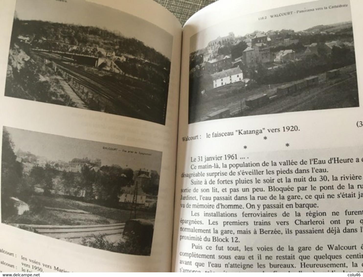 Walcourt Une Entité Au Fil Des Gares Histoire Du Chemin De Fer Entre Sambre Et Meuse Laneffe Pry Fraire Froimont Fairoul - Treinen