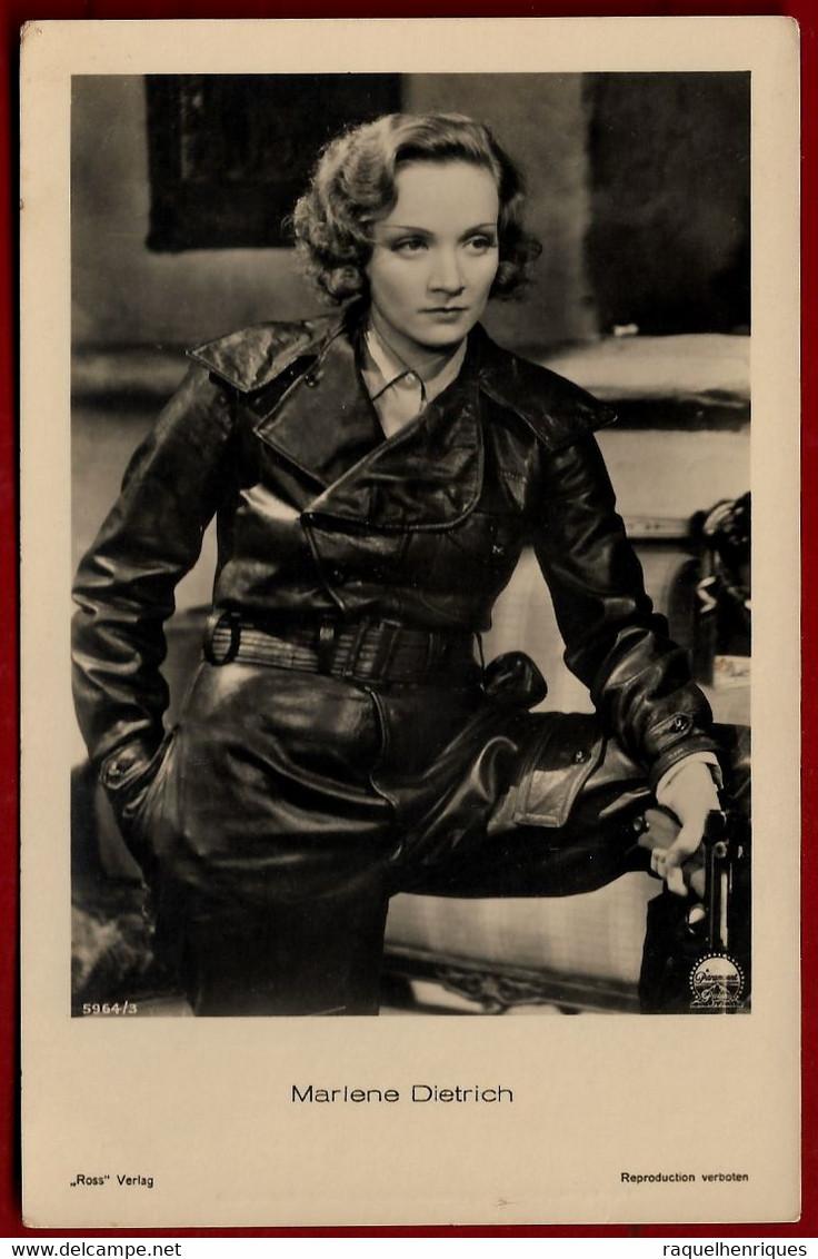 CPA Movie Star Postcard 1920s Ross Verlag Marlene Dietrich (IT#212) - Schauspieler