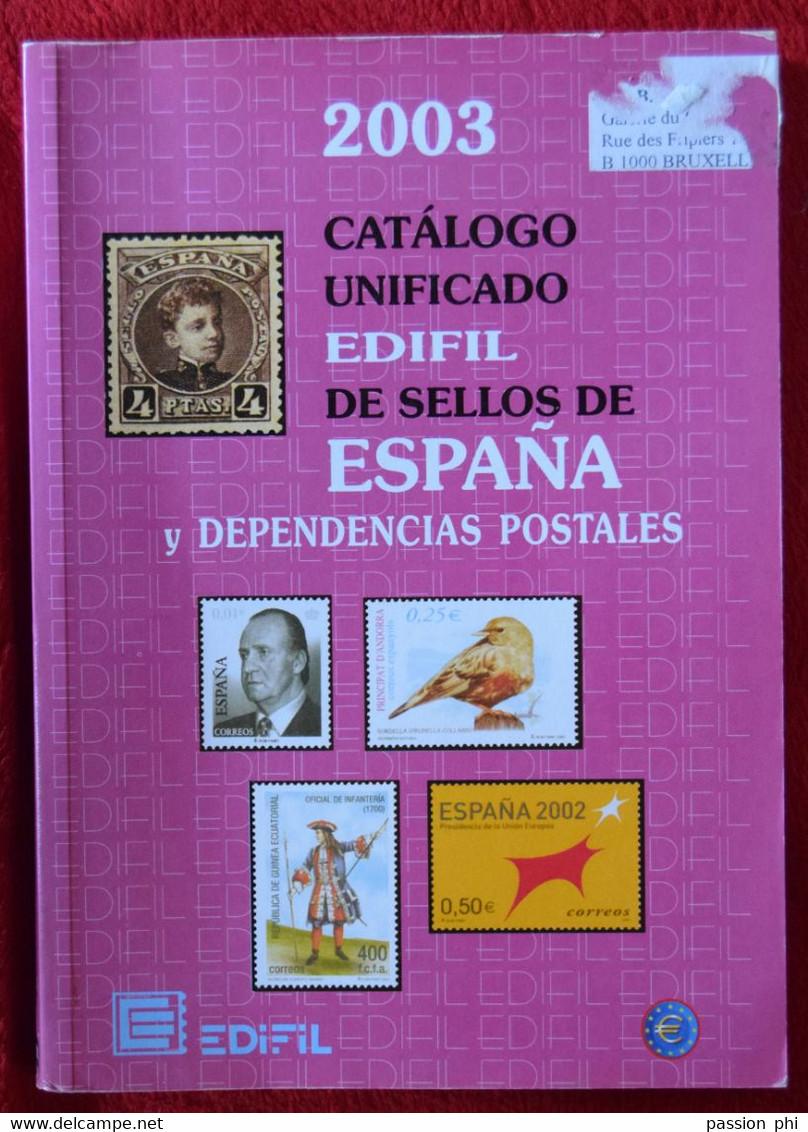 ESPAGNE EDIPHIL 2003 - Spanien