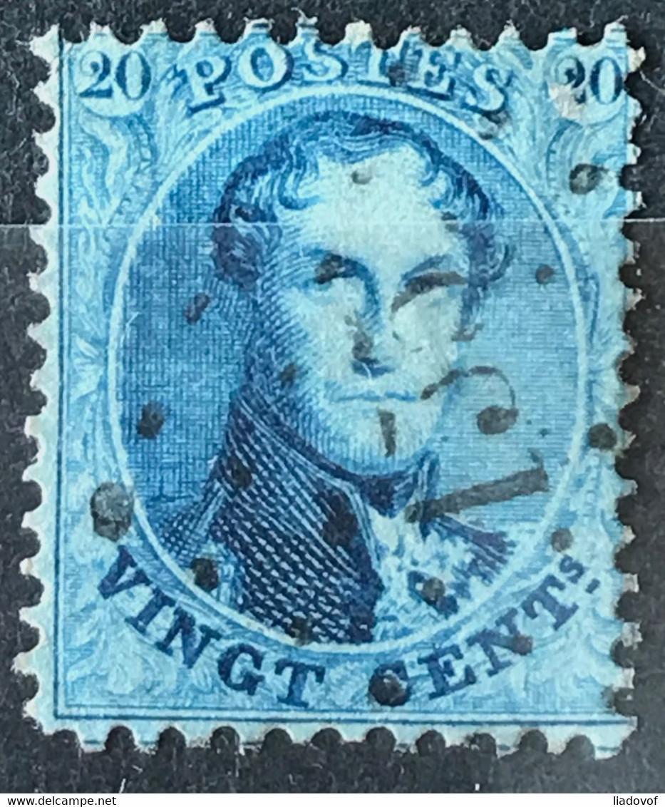 Medaillon 15A Gestempeld LP135 FRAMERIES - 1863-1864 Medallions (13/16)