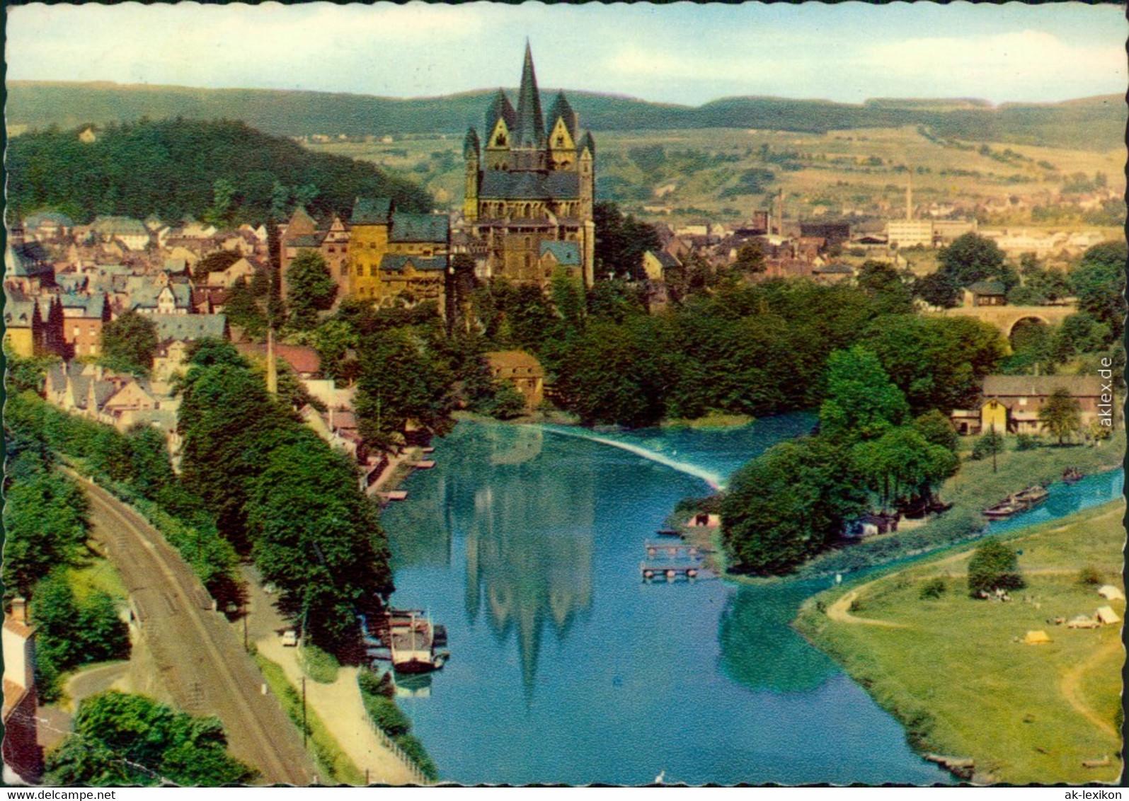 Ansichtskarte Limburg (Lahn) Panorama-Ansicht 1961 - Limburg