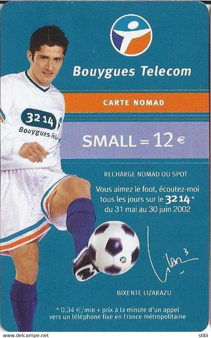 FRANCE - FOOTBALL - BIXENTE LIZARAZU - Nachladekarten (Handy/SIM)