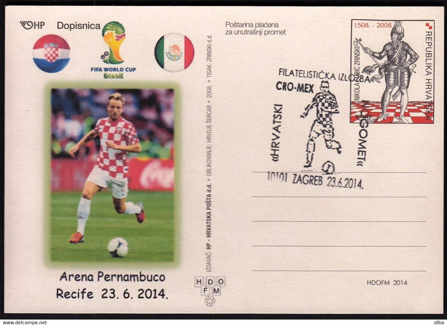 Croatia Zagreb 2014 / Soccer Football / World Championship Brazil 2014 / Ph. Ex. Croatian Football / Croatia - Mexico - 2014 – Brasil