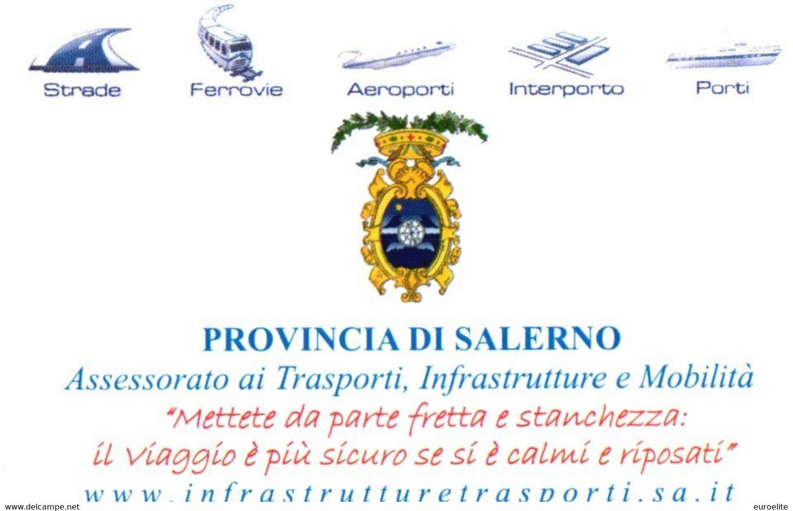NUOVE  Salerno - Campagna Sicurezza Stradale - Public Practical Advertising