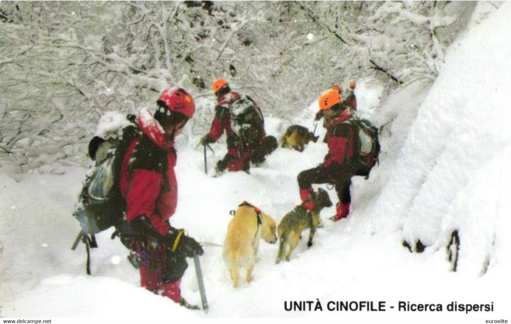 USATE ›  VVFF - Unità Cinofile, Ricerca Dispersi - Public Practical Advertising