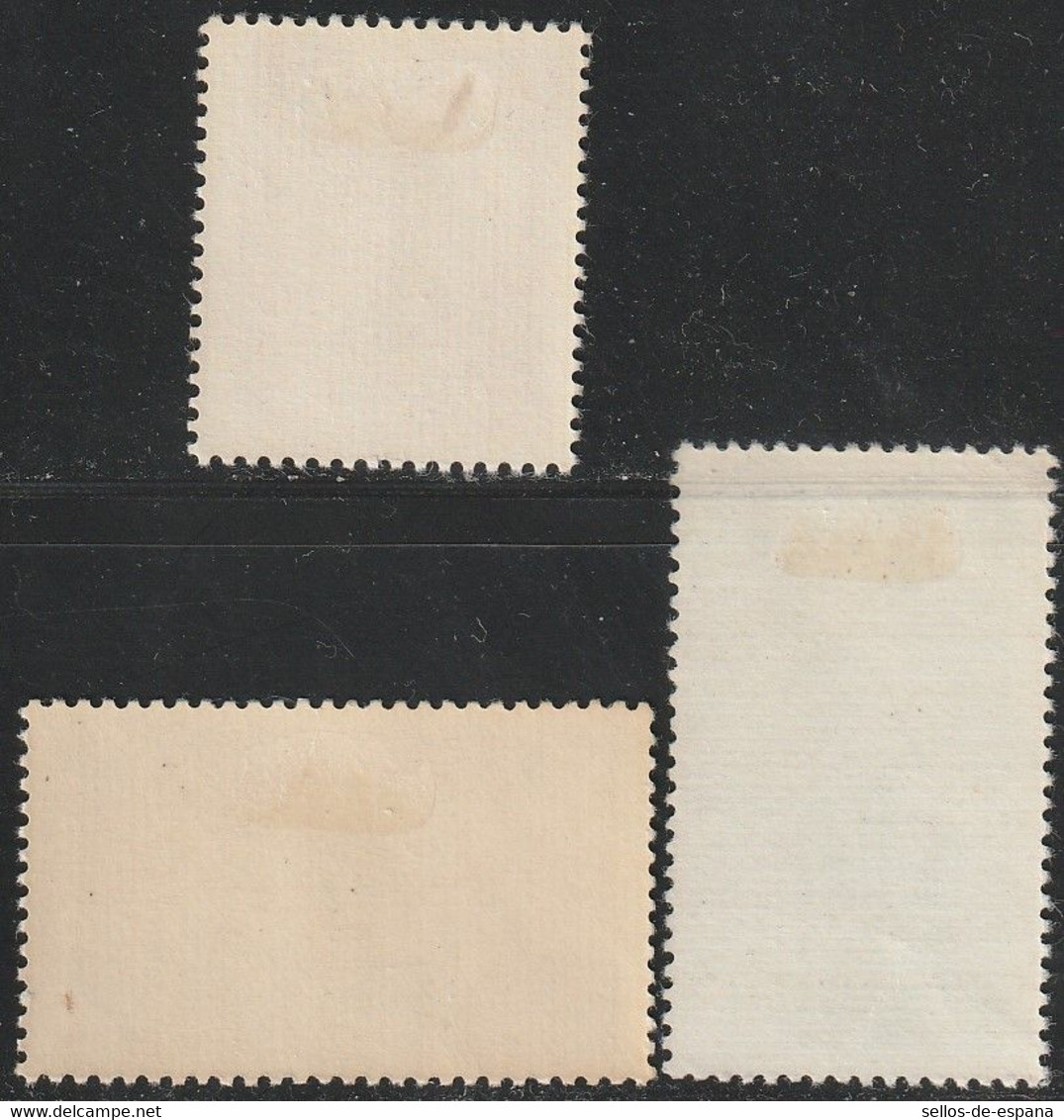 1953. * Edifil: 1126/28. VII CENTENARIO UNIVERSIDAD DE SALAMANCA - 1951-60 Neufs