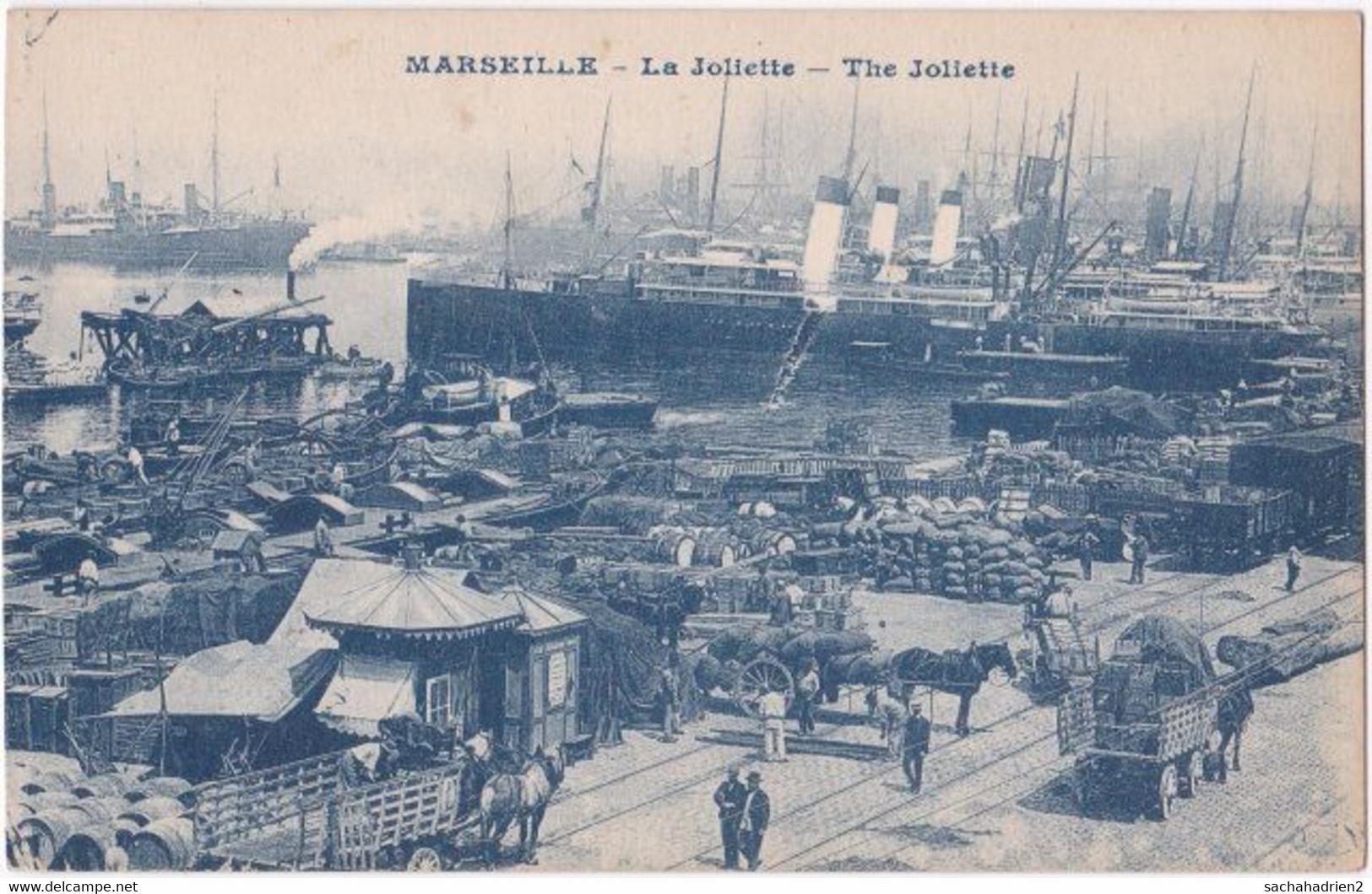13. MARSEILLE. La Joliette - Joliette, Port Area