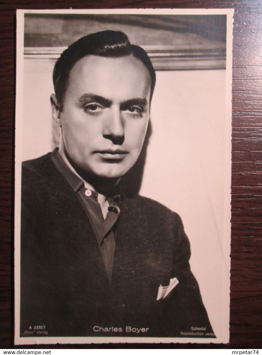 Charles Boyer - French American Actor - Künstler