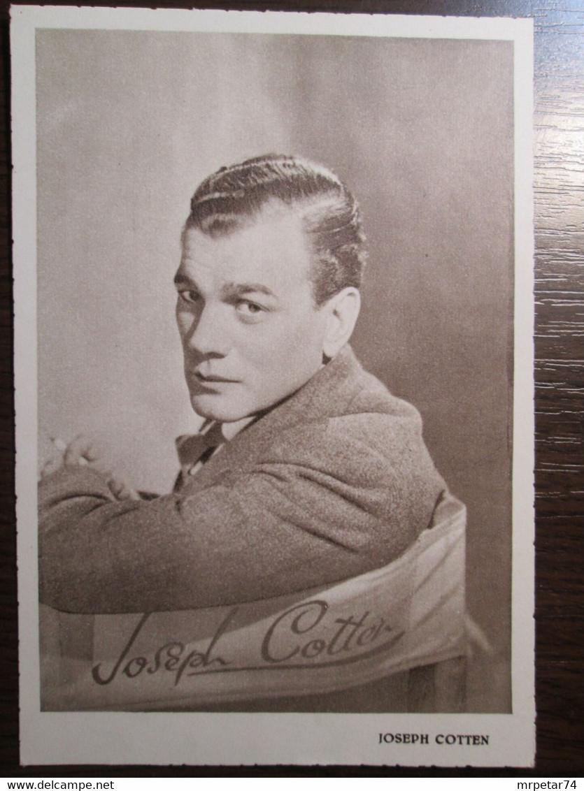 Joseph Cotten - American Actor - Künstler