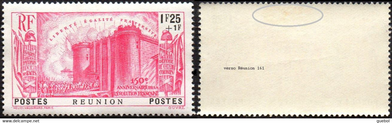 Réunion - N° 161 * Anniversaire De La Révolution Bastille - Nuevos