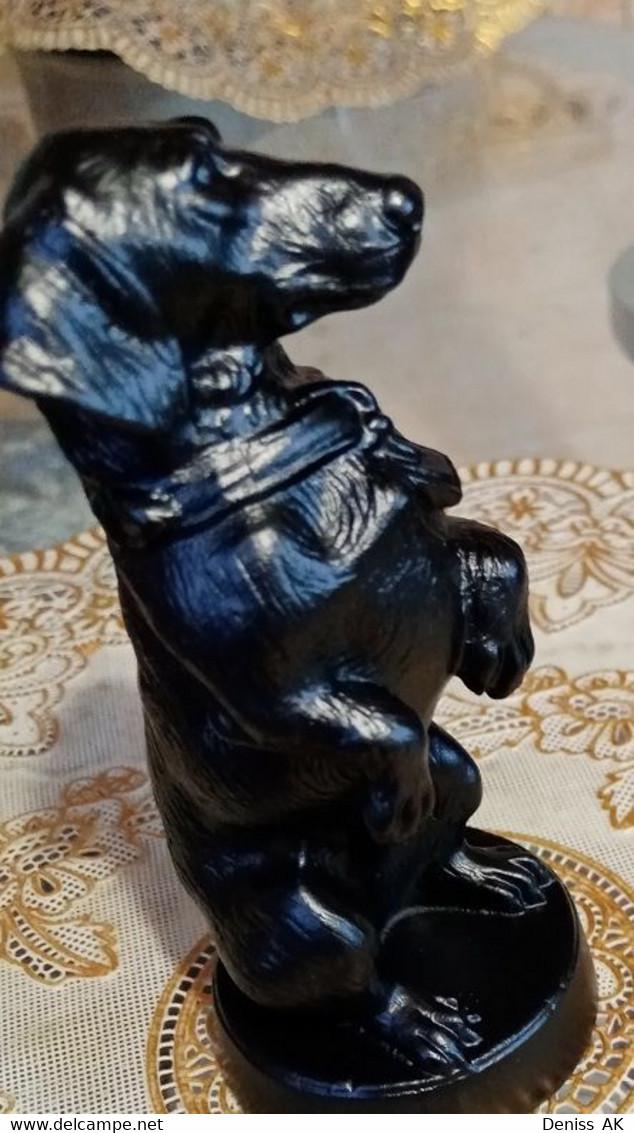 Statuette. Faithful Dog. - Otros