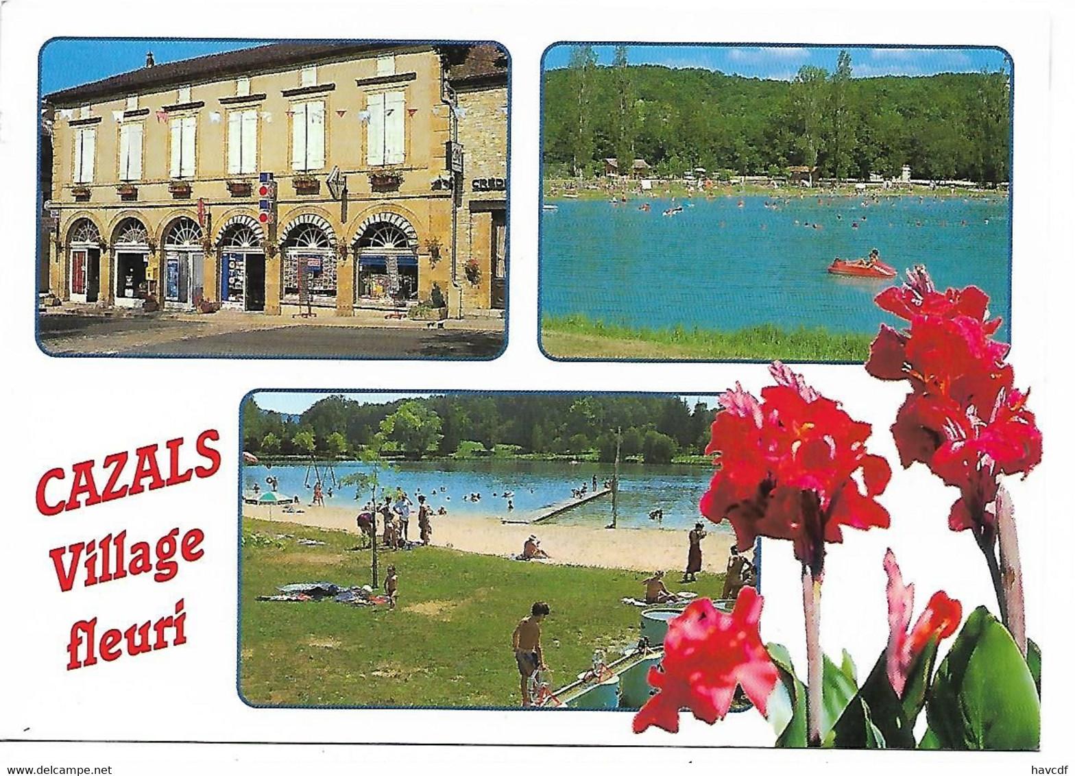 CPM - édit. APA-POUX - Cazals - Au Cœur De La Bouriane Entre Quercy Et Périgord - Cazals