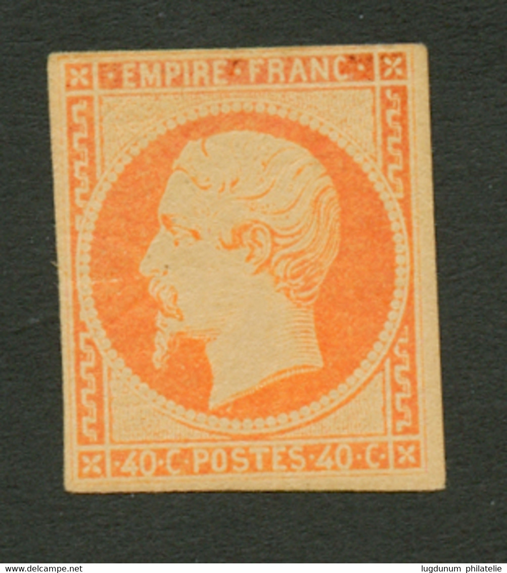 40c Empire (n°16) Neuf **. Lègérement Touché En Haut. Gomme Magnifique Sans Trace De Charnière (rare Pour Ce Timbre). Co - Sin Clasificación