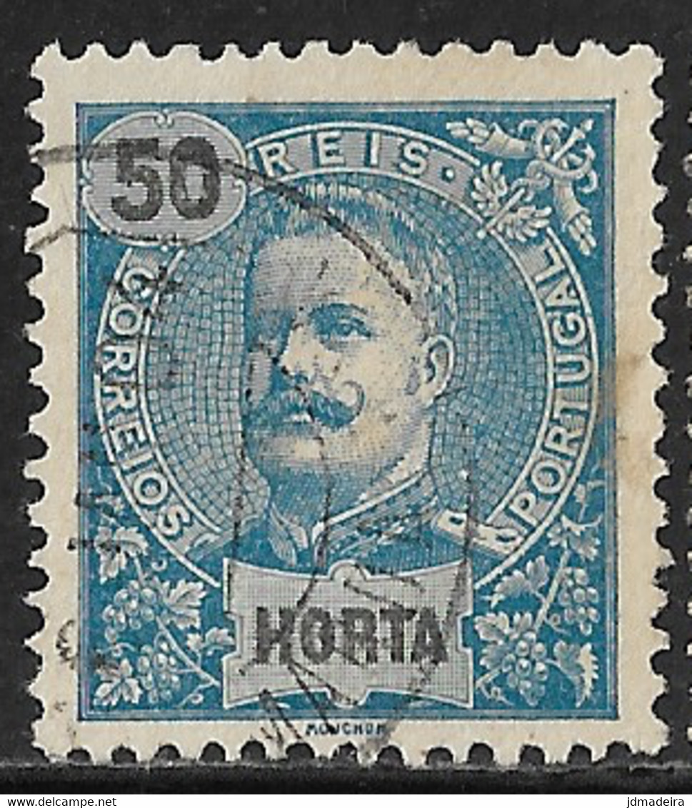 Horta – 1897 King Carlos 50 Réis - Horta