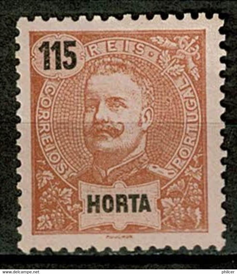 Horta, 1898/905, # 32, MNG - Horta