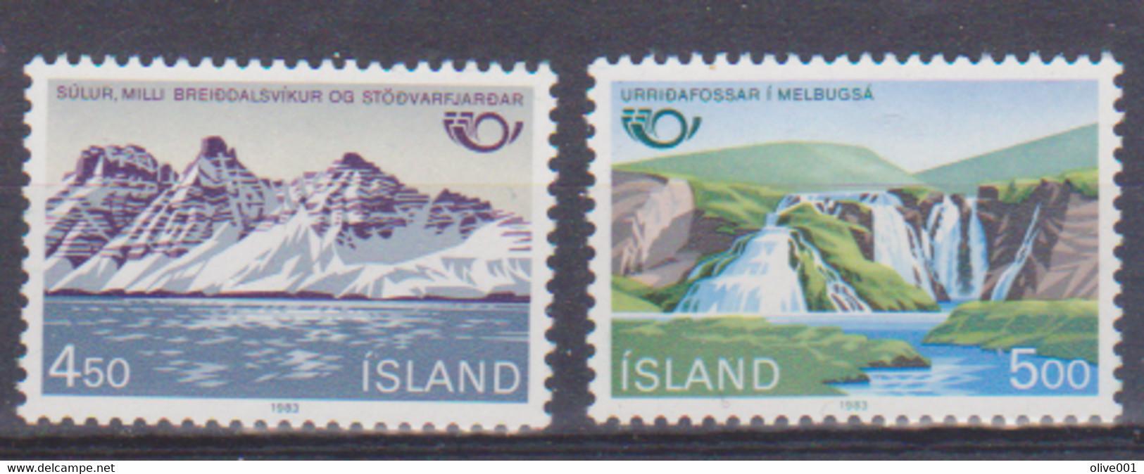 Timbres De 1983 Paysages Série Complète De 2 Tp MNH ** - Zonder Classificatie