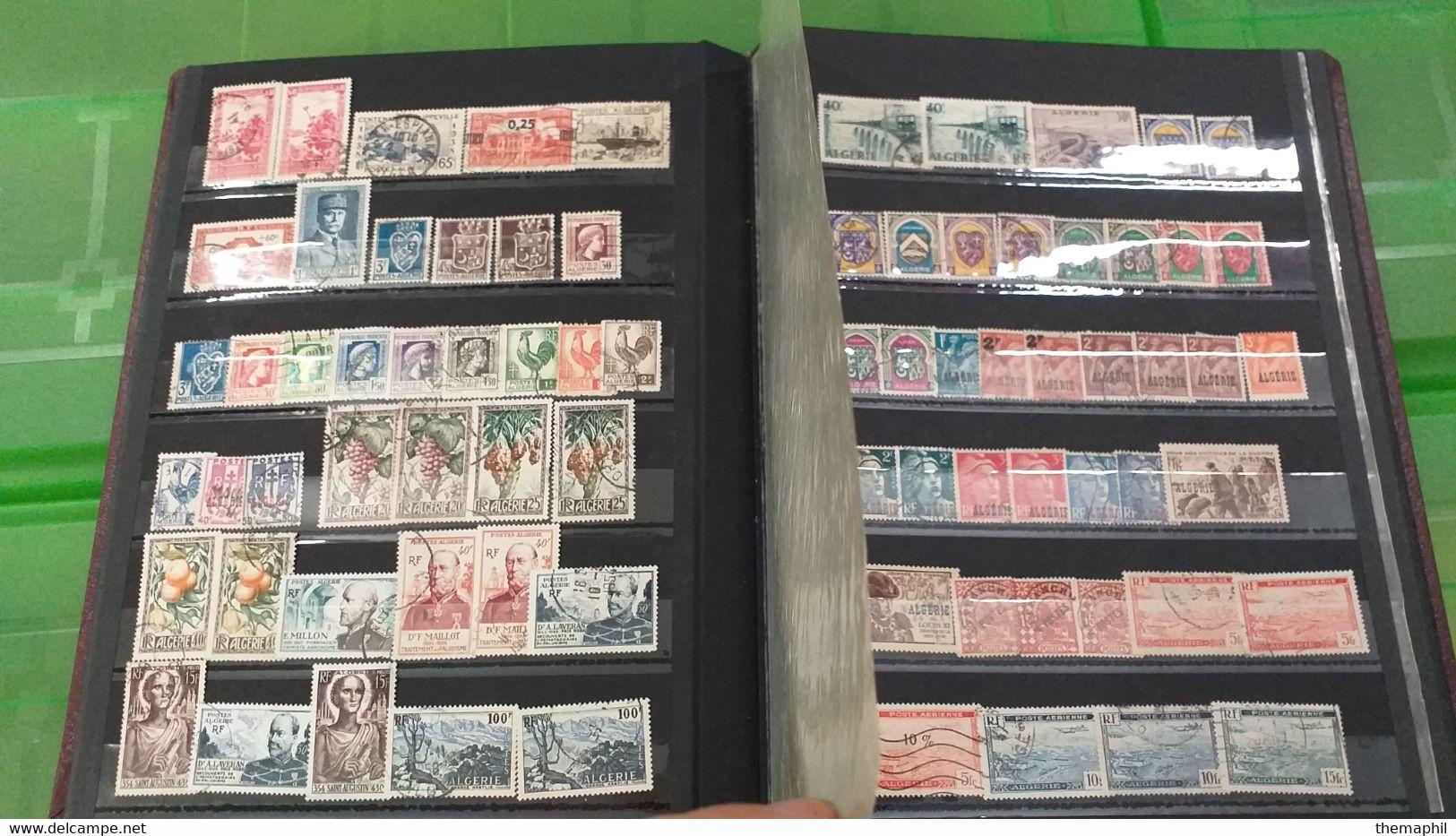 Lot N° TH 686  COLONIES Un Lot De 3 Classeurs Nombreux Neufs Xx - Collections (with Albums)