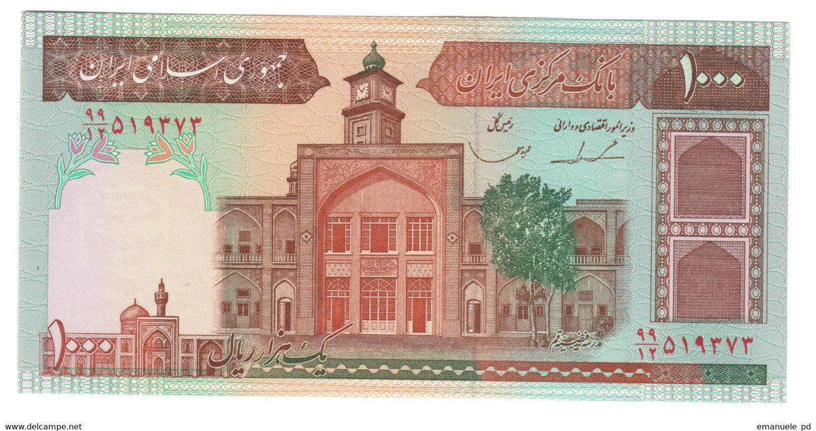 IRAN1000RIALS1982P138UNCSign. 23 -138E.CV. - Iran