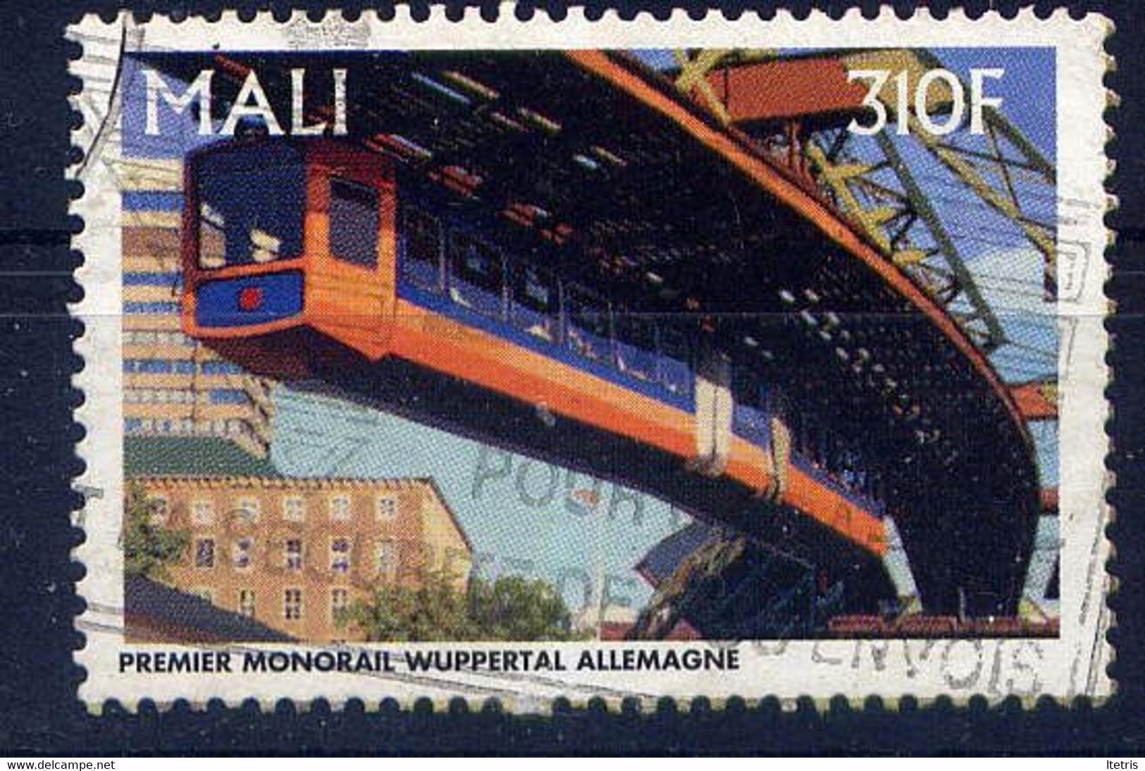 MALI - 933F° - TRAIN MONORAIL - Mali (1959-...)