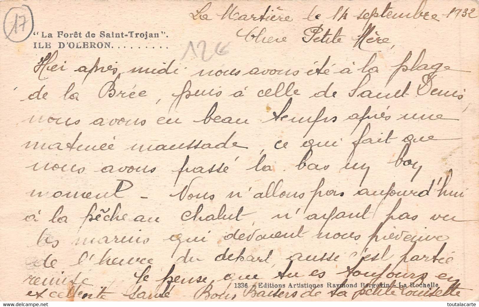 CPSM 17 ILE D OLERON LA FORET DE SAINT TROJAN - Ile D'Oléron