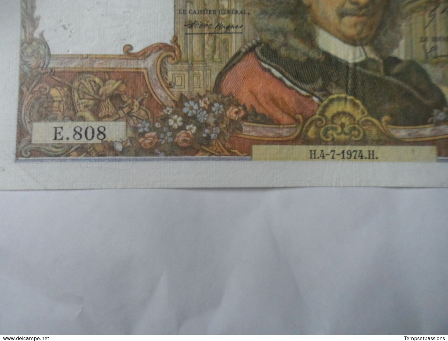 Billet De 100 Francs 1974 Corneille // E.808 - 100 F 1964-1979 ''Corneille''