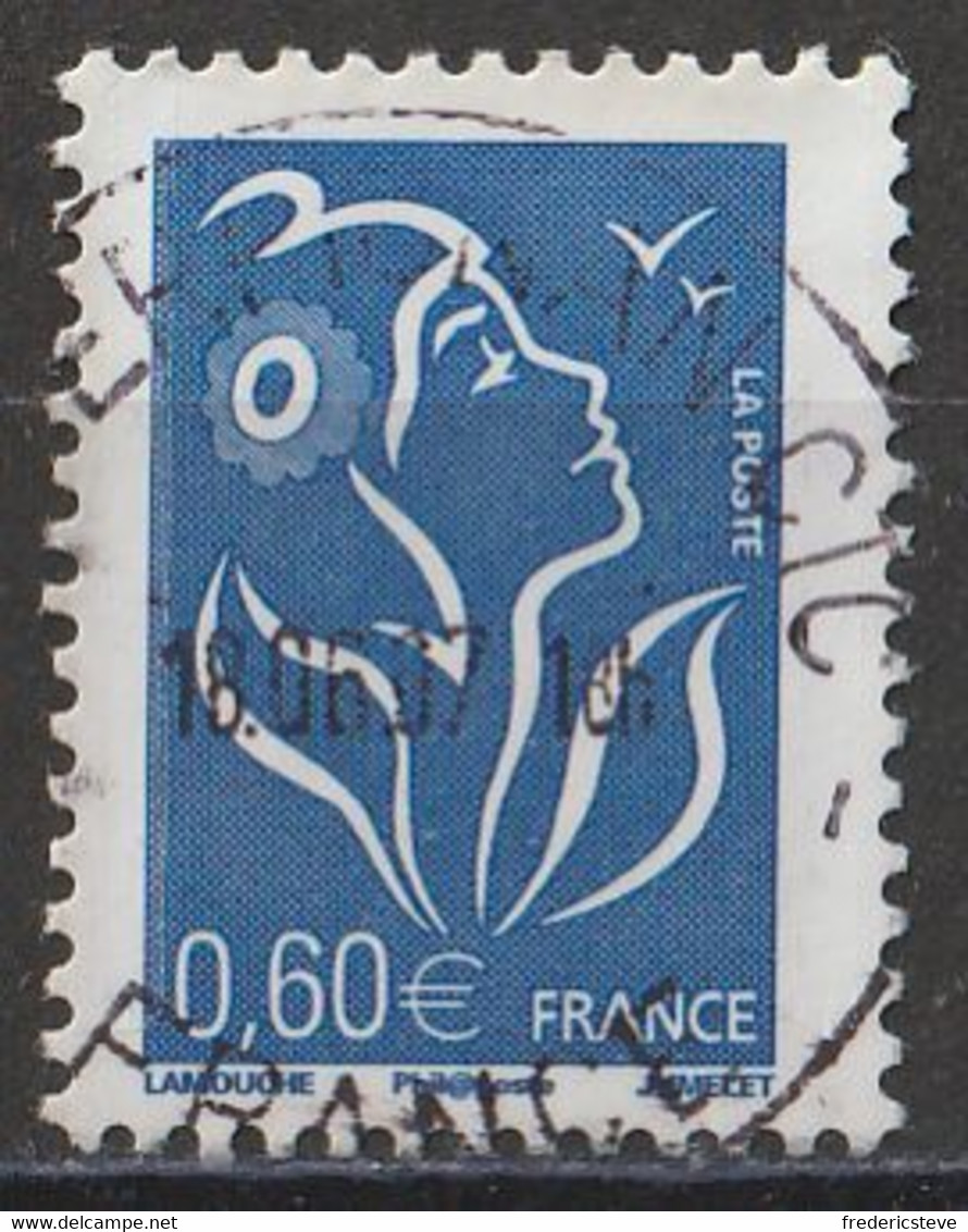 (!)  Timbre FRANCE De 2006 Marianne De Lamouche Y&T N° 3966 Oblitéré - Gebruikt