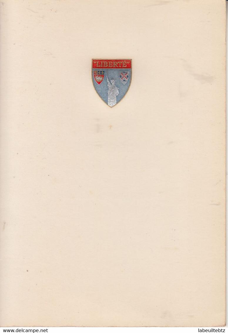 "Lot De 23 Menus ( Différents ) - Paquebot "" LIBERTE "" Année 1958  PRIX FIXE - Menus"