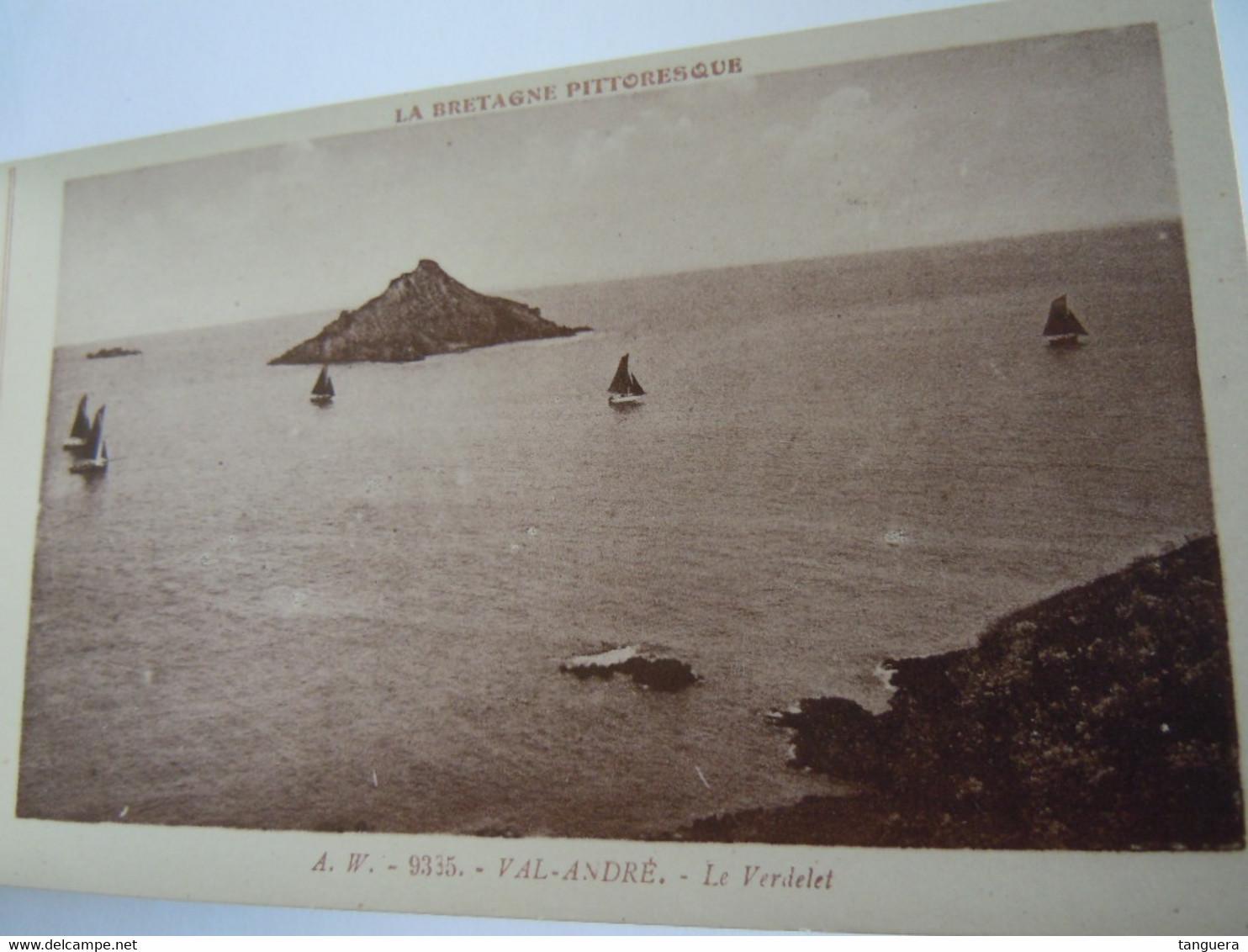 La Bretagne Pittoresque Val-André Carnet 12 Cartes Vues Edition A. Waron - Bretagne