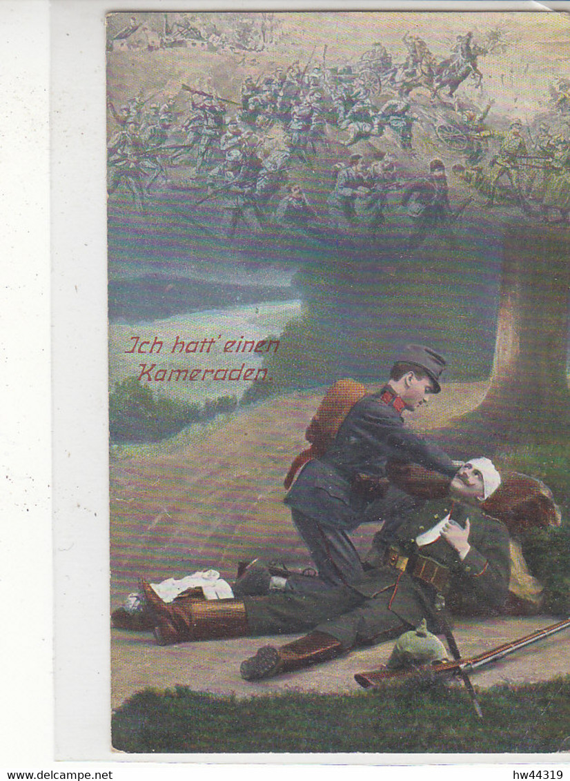 Feldpost Aus Vereinslazarett .. Des Roten Kreuz LIMBURG A/Lahn HADAMAR 9.12.16 Nach Hüllhorst - Cartas