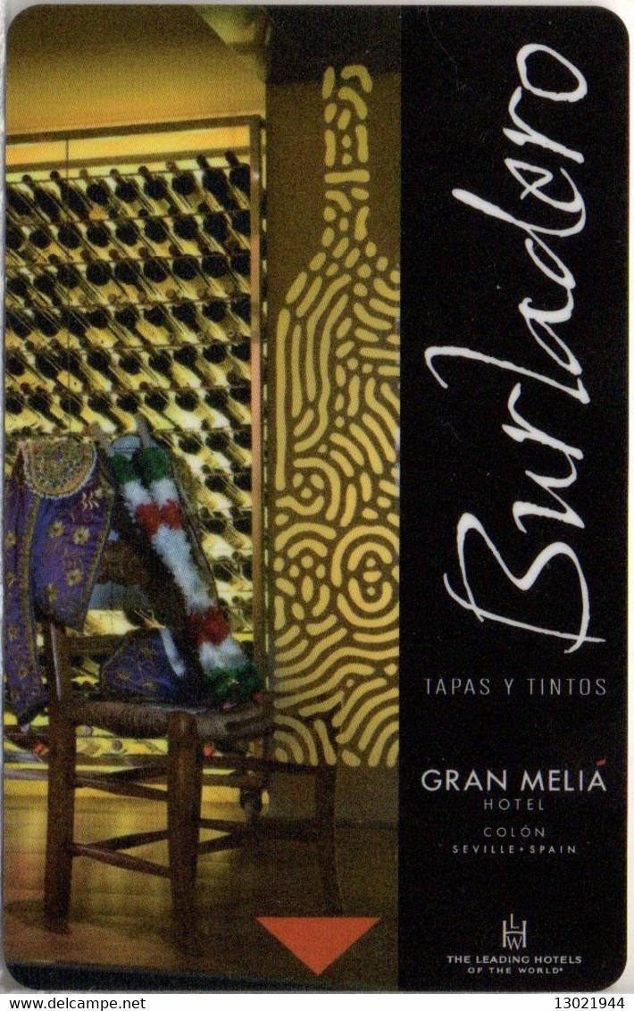 SPAGNA  KEY HOTEL Gran Meliá Colón - Burladero - Lady - ROLEX - Datejust - SEVILLA - Hotelsleutels (kaarten)
