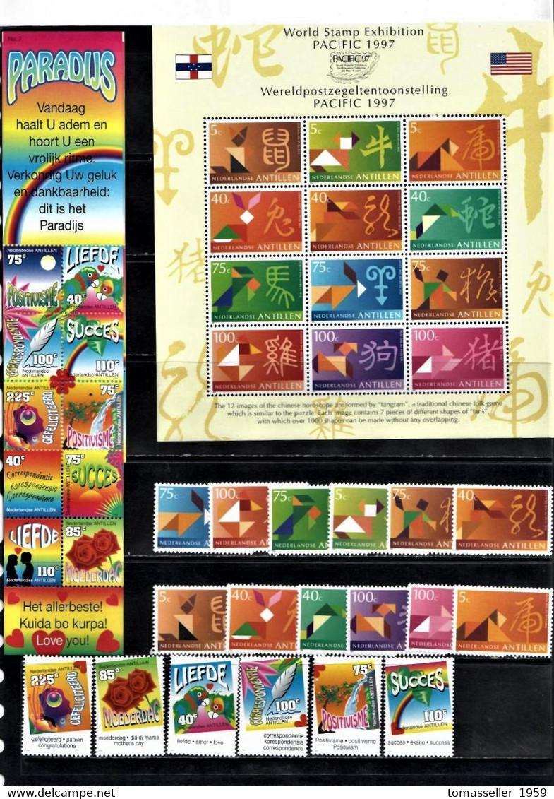 Neterlands Antilies  7 YEARS (1994 -1995-1997-1998-1999-2000-.2002 Y.y.) .MNH - Curacao, Netherlands Antilles, Aruba