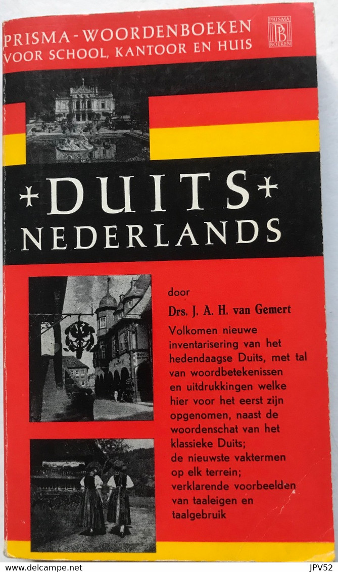 (393) Prisma Woordenboek - Duits-Nederlands - 1967 - Dictionaries