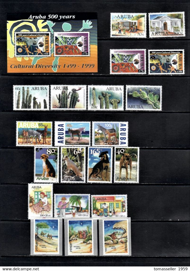 ARUBA 13 Years ( 1994-2006 Y.y.) Full MNH Sets-75 Issues-(225 Stamps+4 S/s) - Unclassified
