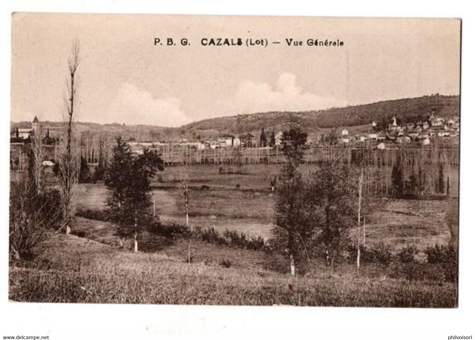 CAZALS VUE GENERALE - Cazals
