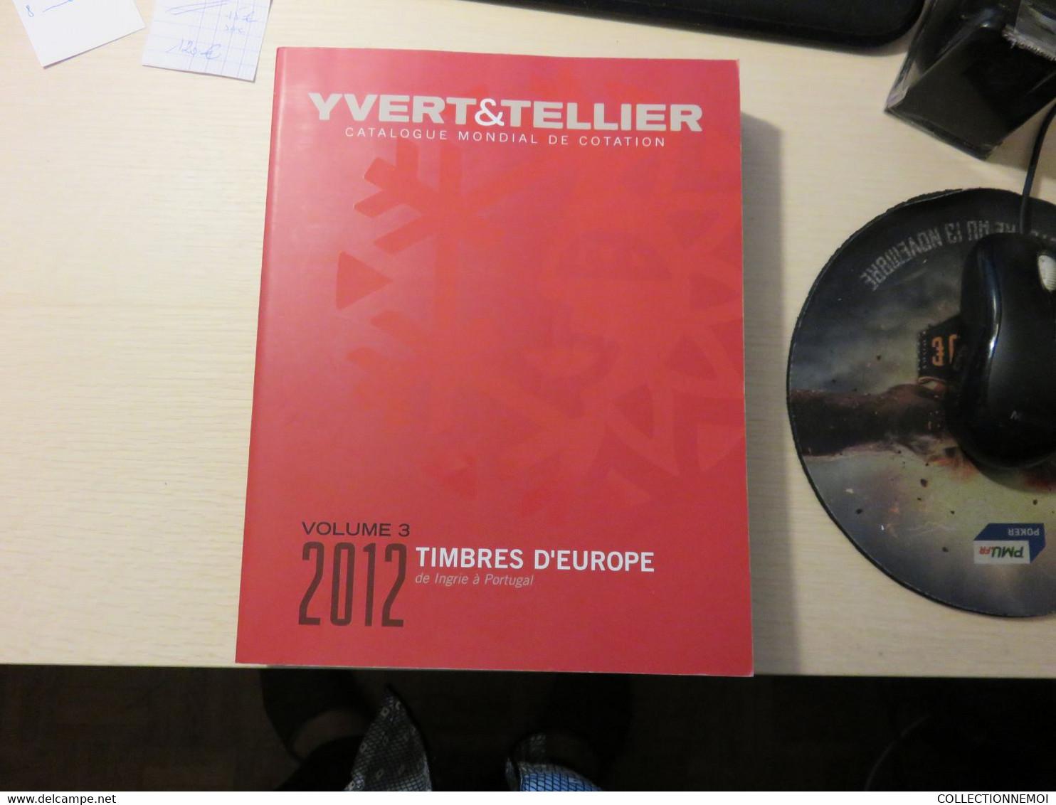 """YVERT ET TELLIER 2012 Timbres De """"""""INGRIE à PORTUGAL""""""""(BON ETAT) - Frankreich"""