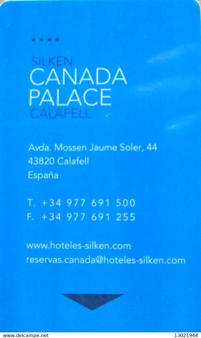 SPAGNA  KEY HOTEL   Silken Canada Palace **** -     Calafell, Tarragona - Cartes D'hotel