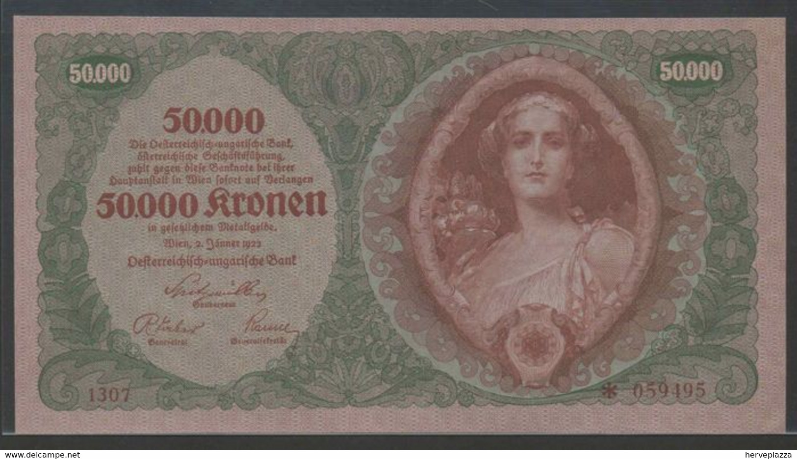 Österreich - 50.000 Kronen 1922 - Pick 80 - Austria