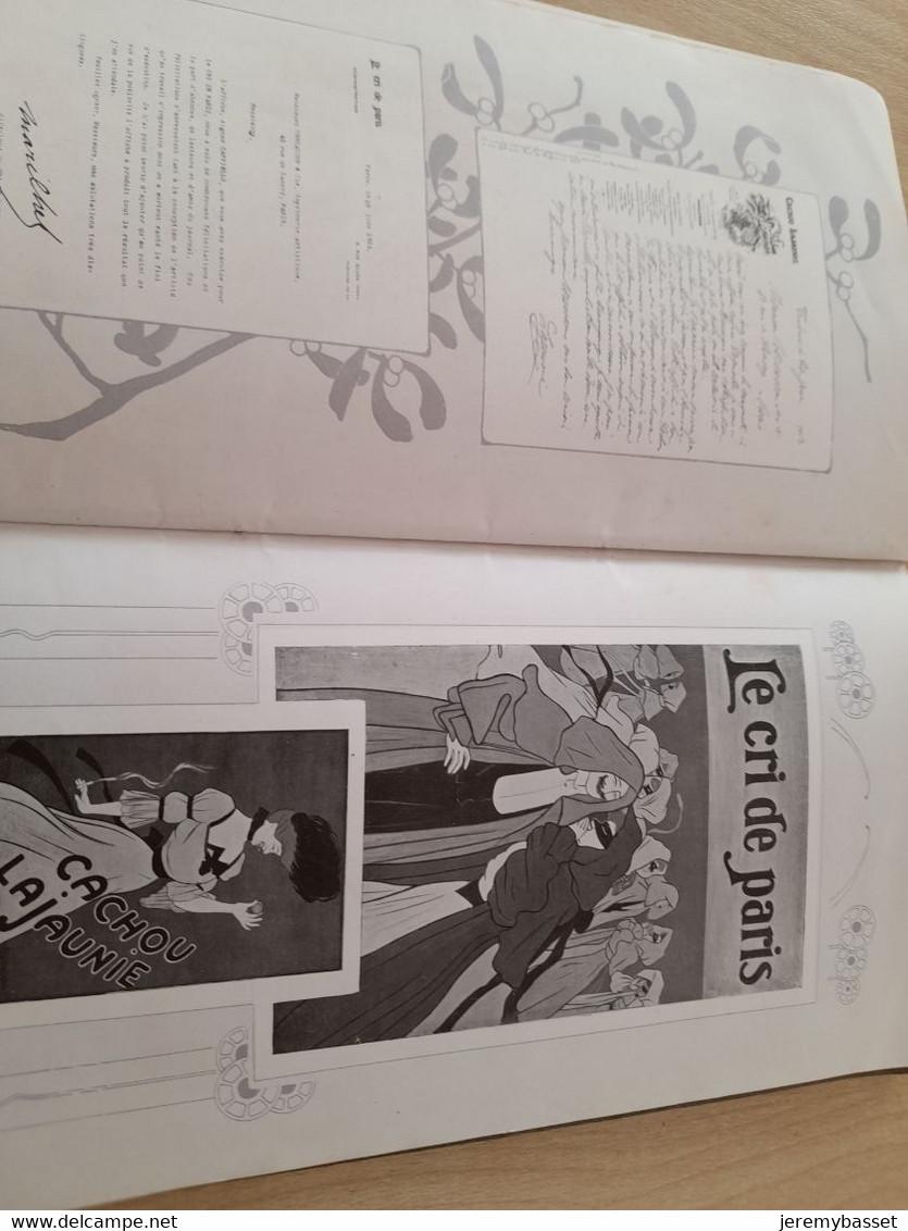Les Affiches Cappiello Et L Imprimerie P. Vercasson &Co (recueil D Affiches édité Pour Kermesse,alcool,théâtre,..) - 1901-1940