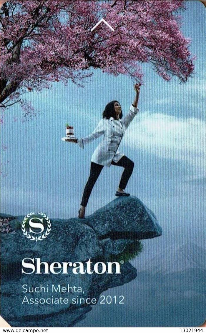 STATI UNITI KEY HOTEL   Sheraton - Suchi Metha - Associate Since 2012 - Cartes D'hotel