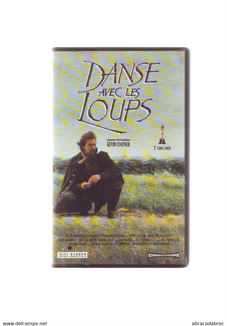 K7 Cassette Video Danse Avec Les Loups - Kevin Costner - Cinemascope - - Western/ Cowboy
