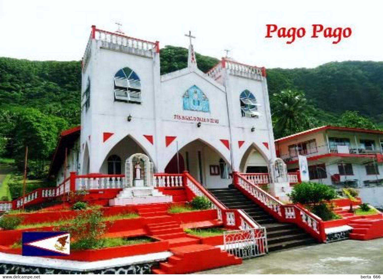 American Samoa Pago Pago Church New Postcard Amerikanisch-Samoa AK - Amerikaans-Samoa