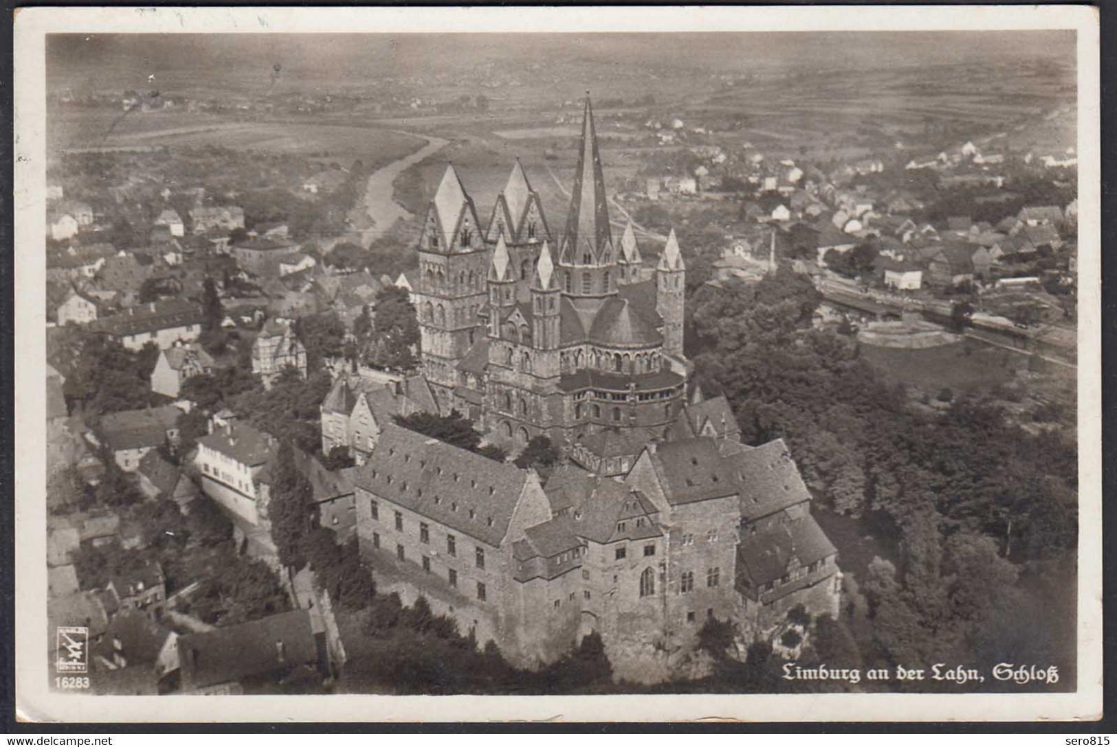 AK Limburg An Der Lahn Schloss Foto Teilansicht Stempel Bahnhof Limburg  (65198 - Sin Clasificación
