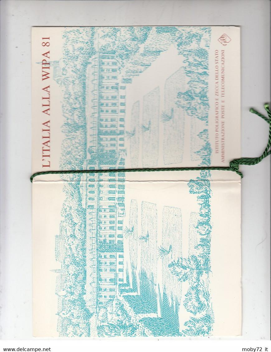 Italia - 1981 - Usato/used - WIPA - Booklet - Plaatfouten En Curiosa