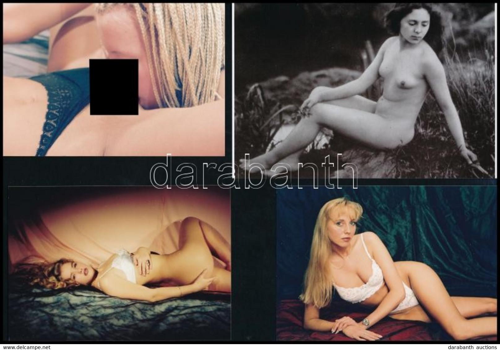 Szolidan Erotikus Fényképek Az Asztal Fiából, Vegyes Mix (3. Sz. Válogatás), 13 Db Fotó, 6x9 Cm és 10x15 Cm Között - Non Classificati